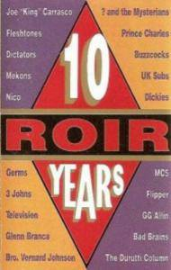 Roir 10 Years - The Anthology - Cover