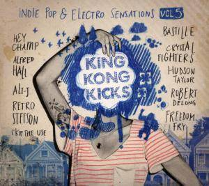 Cover - Robert DeLong: King Kong Kicks - Volume 05