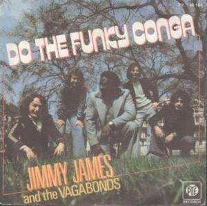 Cover - Jimmy James & The Vagabonds: Do The Funky Conga
