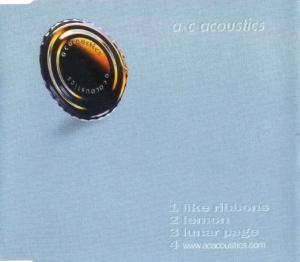 Cover - AC Acoustics: Like Ribbons