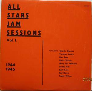 Cover - Buck Clayton: All Star Jam Session Vol. 1