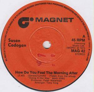Cover - Susan Cadogan: How Do You Feel The Morning After