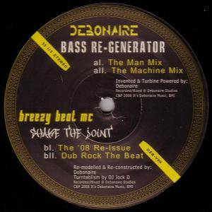 Debonaire: Bass Re-Generator / Shake The Joint - Cover