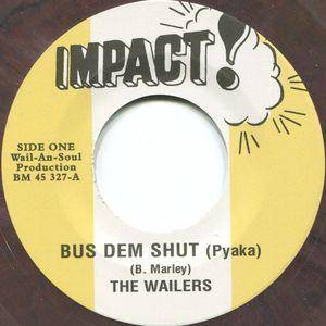 Cover - Wailers, The: Bus Dem Shut