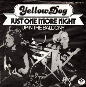 Cover - Yellow Dog: Just One More Night