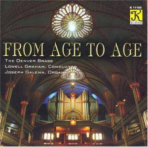 Cover - Gaston Litaize: Denver Brass: From Age To Age, The
