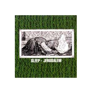 Sleep: Jerusalem - Cover