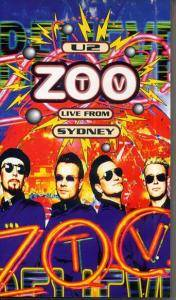U2: Zoo TV - Live From Sydney - Cover