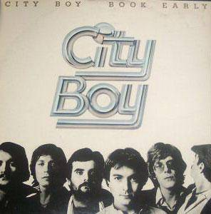 City Boy: Book Early - Cover