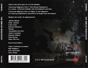 Ayreon: Universal Migrator Part 1: The Dream Sequencer (CD) - Bild 2