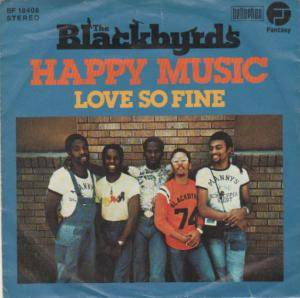 Cover - Blackbyrds, The: Happy Music