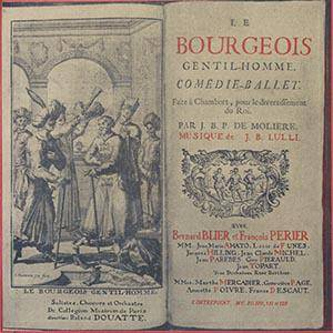 Cover - Jean-Baptiste Lully: Bourgeois Gentilhomme / Comedie-Ballet, Le
