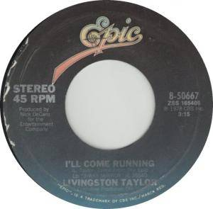 Cover - Livingston Taylor: I'll Come Running