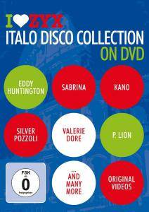 I Love ZYX Italo Disco Collection On DVD - Cover