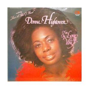 Cover - Donna Hightower: I'm In Love With You