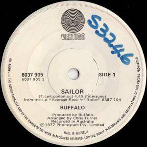 Buffalo: Sailor - Cover