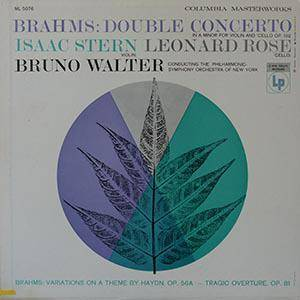 Cover - Johannes Brahms: Double Concerto In A Minor For Violin And Cello Op. 102 / Variations On A Theme By Haydn Op. 56a / Tragic Overture Op. 81