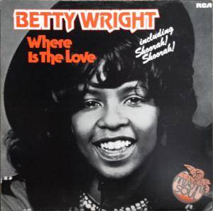 Cover - Betty Wright: Where Is The Love