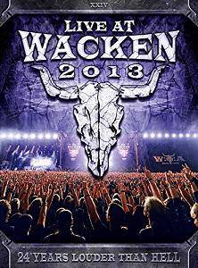 Live At Wacken 2013 - Cover