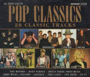 Pop Classics - 28 Classic Tracks - Cover