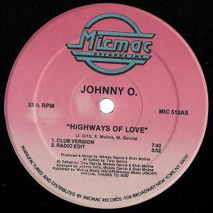 Cover - Johnny O: Highways Of Love