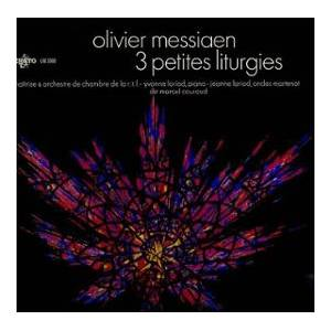 Olivier Messiaen: 3 Petites Liturgies - Cover
