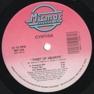 Cover - Cynthia: Thief Of Hearts