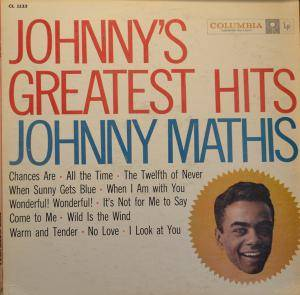 Cover - Johnny Mathis: Johnny's Greatest Hits