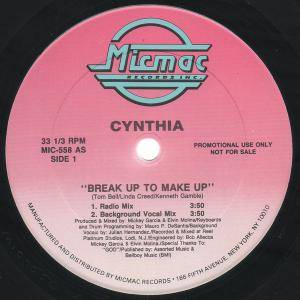 Cover - Cynthia: Break Up To Make Up
