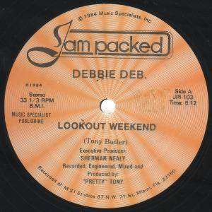 "Debbie Deb: Lookout Weekend (12"") - Bild 1"