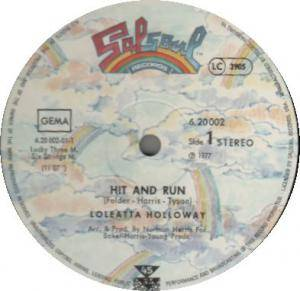 Cover - Loleatta Holloway: Hit And Run