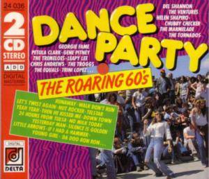 Dance Party The Roaring 60's - Cover