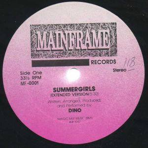 Dino: Summergirls - Cover