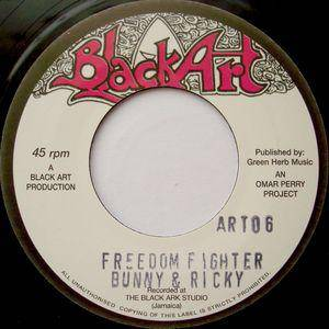 Cover - Upsetters, The: Freedom Fighter / Iron Wolf