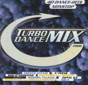 Turbo Dance Mix 2000 - Cover
