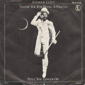 Cover - Andrew Gold: Thank You For Being A Friend
