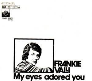 Cover - Frankie Valli: My Eyes Adored You
