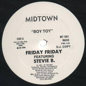Friday Friday: Boy Toy - Cover