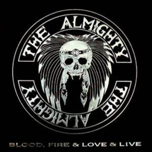 The Almighty: Blood, Fire & Love & Live - Cover