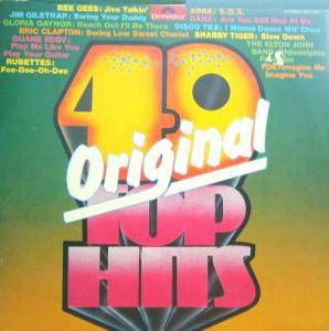 40 Original Top Hits - Cover