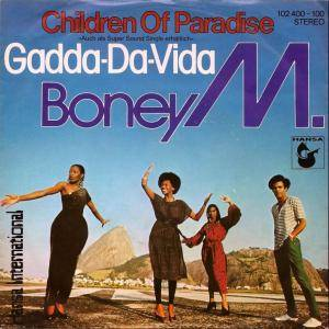 Boney M.: Children Of Paradise / Gadda-Da-Vida - Cover