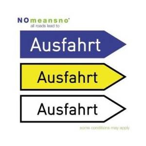 NoMeansNo: All Roads Lead To Ausfahrt - Cover