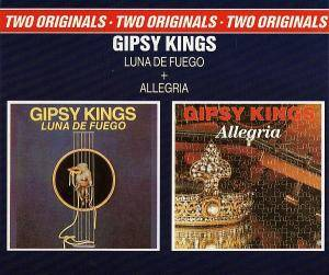 Gipsy Kings: Luna De Fuego / Allegria - Cover