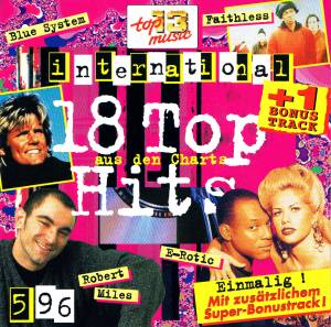Cover - E-Rotic: 18 Top Hits Aus Den Charts - 5/96