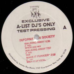 "Information Society: Walking Away (Promo-12"") - Bild 1"