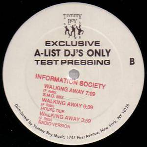 "Information Society: Walking Away (Promo-12"") - Bild 2"