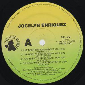 Cover - Jocelyn Enriquez: I've Been Thinking About You