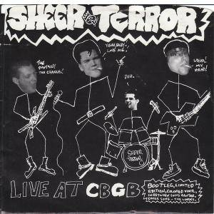 Cover - Sheer Terror: Live At Cbgb