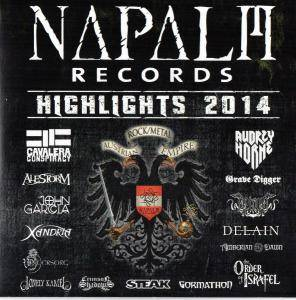 Cover - John Garcia: Napalm Records - Highlights 2014