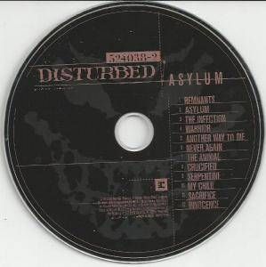 Disturbed: Asylum (CD) - Bild 4